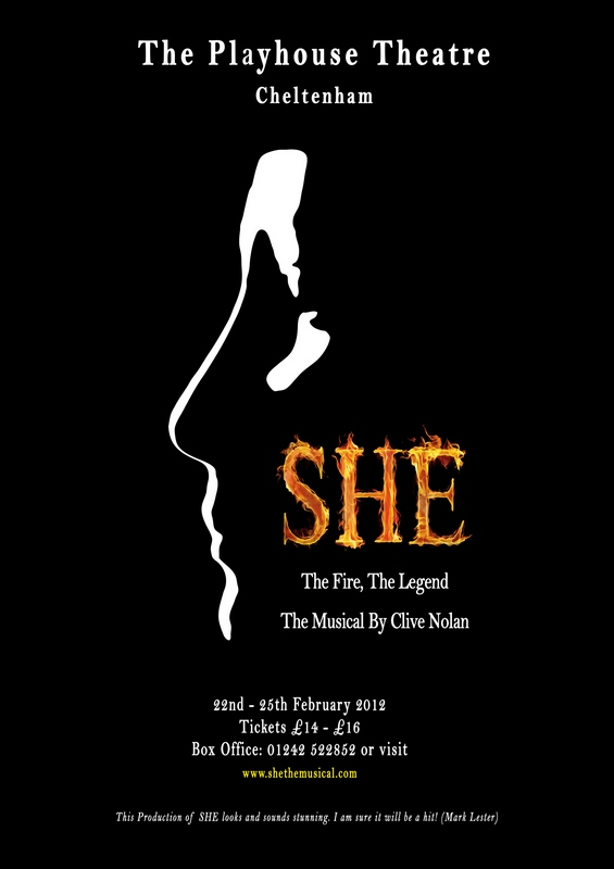 SHE Poster