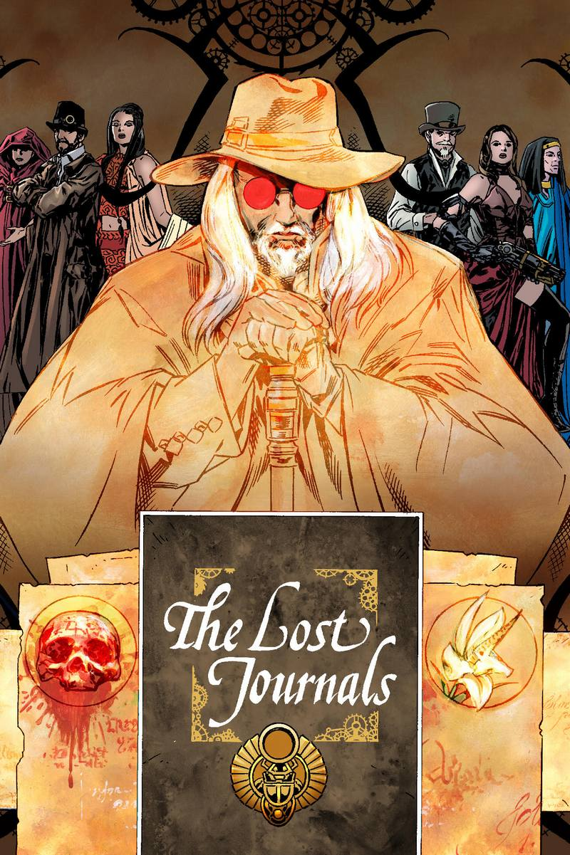 The Lost journals small